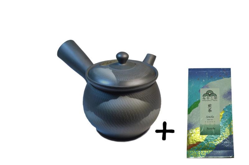 Japonská konvička 270 ml + čaj
