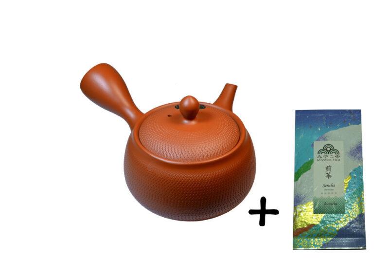 Japonská konvička 350 ml + čaj